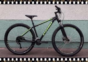 stevens tonga mtb fekete kerékpár