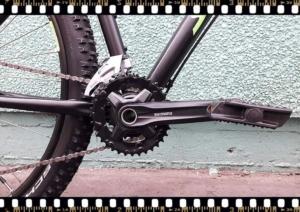 stevens tonga mtb fekete kerékpár hajtómű