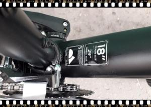 stevens tonga mtb fekete kerékpár méret
