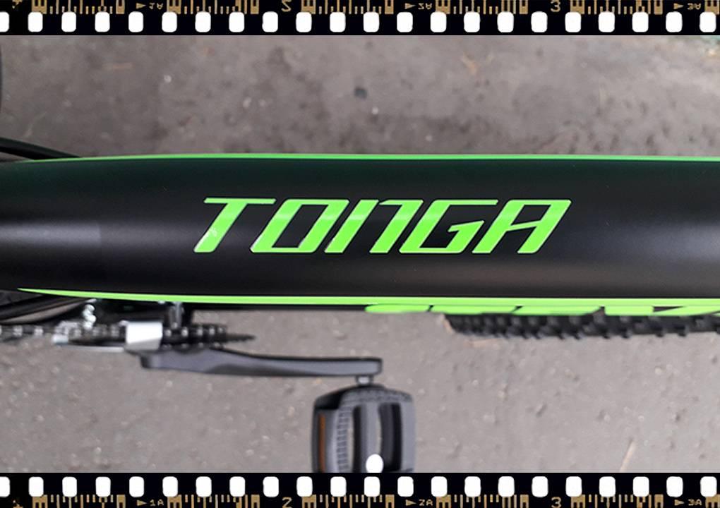 stevens tonga mtb fekete kerékpár váznév