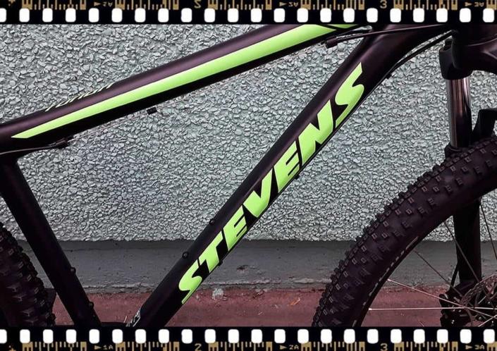 stevens tonga mtb fekete kerékpár váz