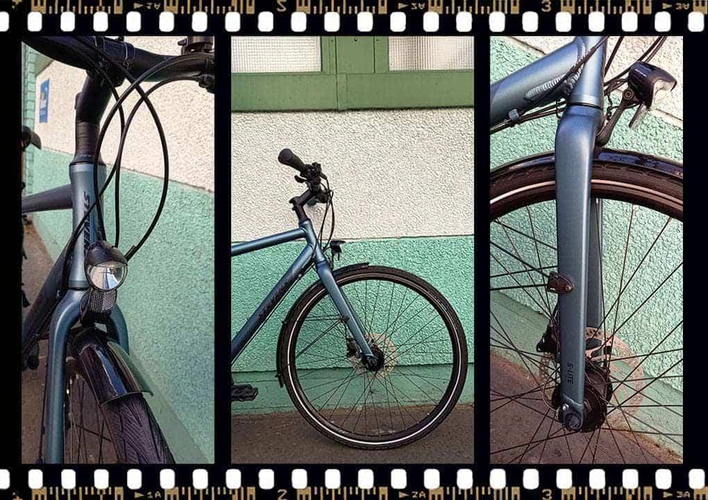 stevens galant lite városi kerékpár előről