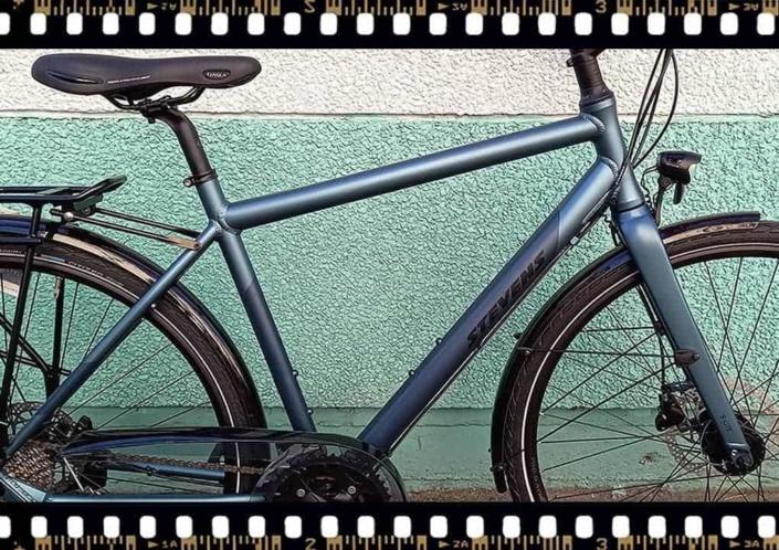stevens galant lite trekking kerékpár aluminium váz