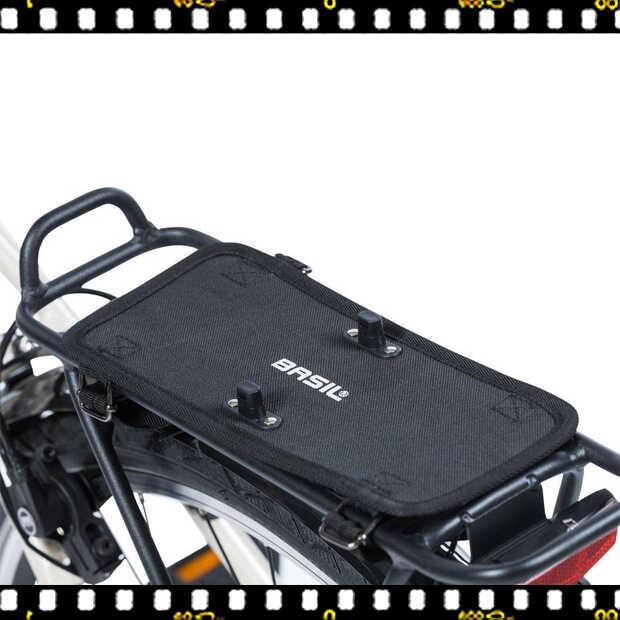 basil dbs kiegészítő dupla táskákhoz csomagtartón