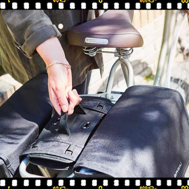 basil dbs kiegészítő dupla táskákhoz biciklin