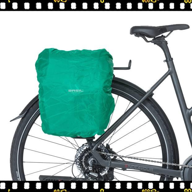 basil discovery biciklis túratáska biciklin esőhuzattal