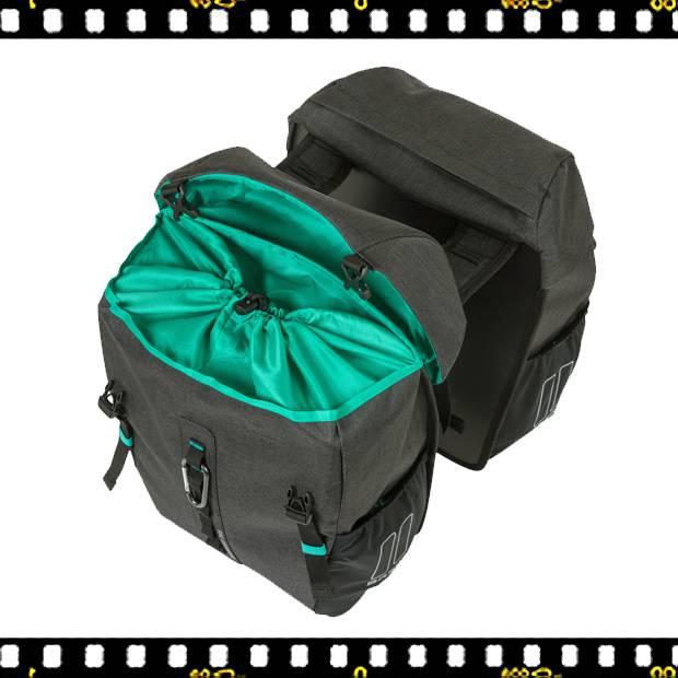 basil discovery biciklis táska belülről