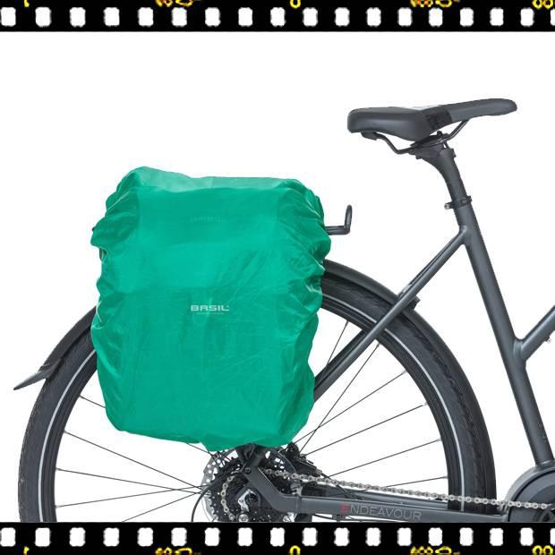 basil discovery biciklis táska biciklin huzattal