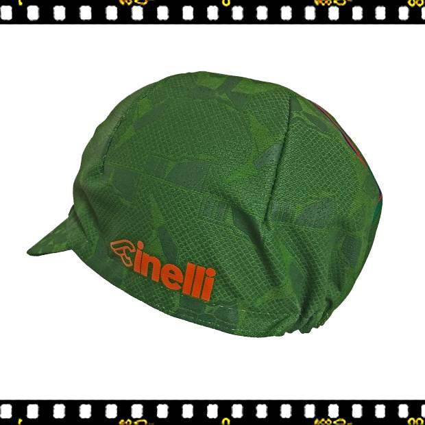 cinelli hobo zöld bringás sapka hátul