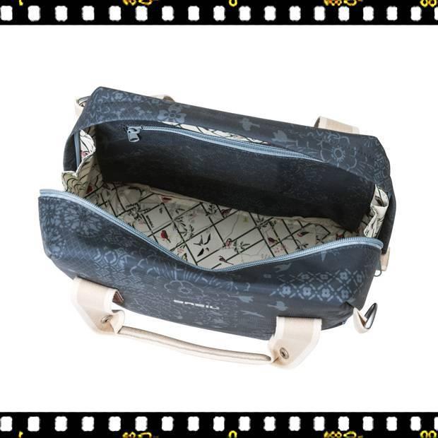 basil boheme carry all bicikli táska kék felülről