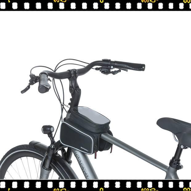 basil sport design dupla kerékpáros váztáska biciklin