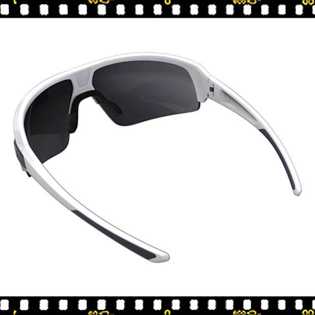 bbb impulse fehér biciklis szemüveg hátul