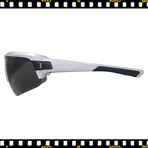 bbb impulse fehér biciklis szemüveg oldalt