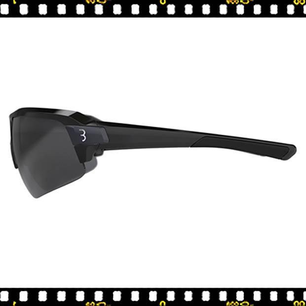 bbb impulse fekete biciklis szemüveg oldalt