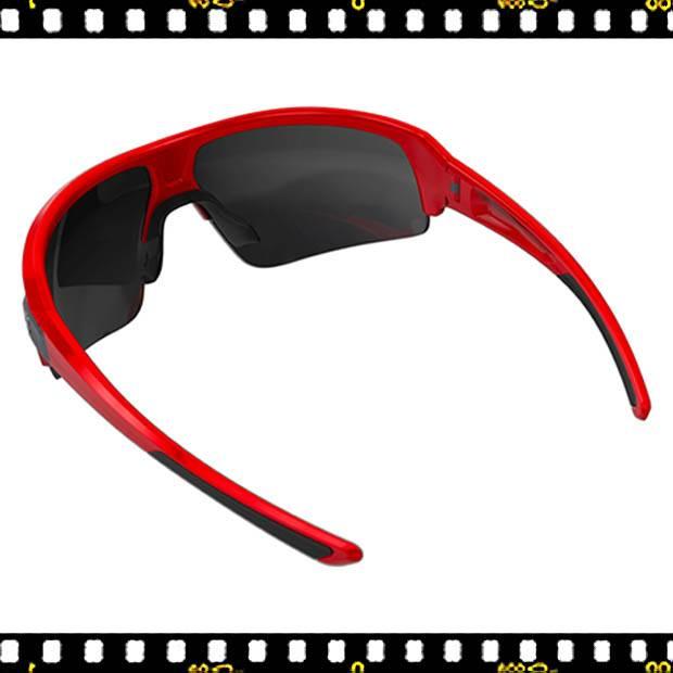 bbb impulse piros biciklis szemüveg hátul