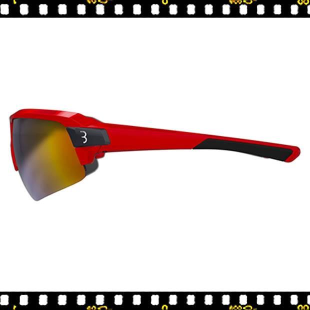 bbb impulse piros biciklis szemüveg oldalt
