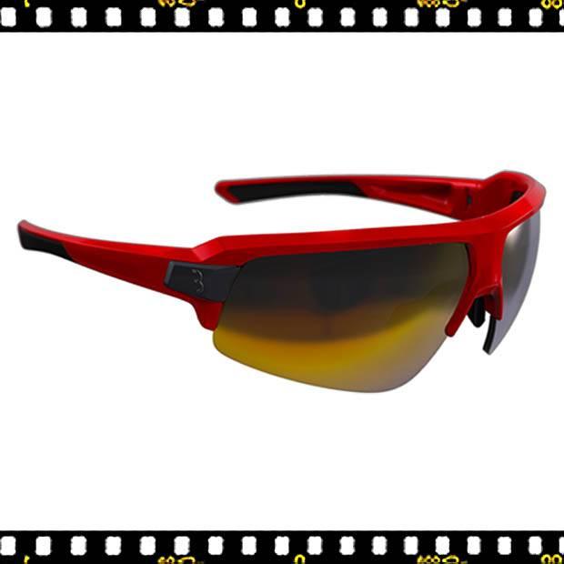 bbb impulse piros biciklis szemüveg