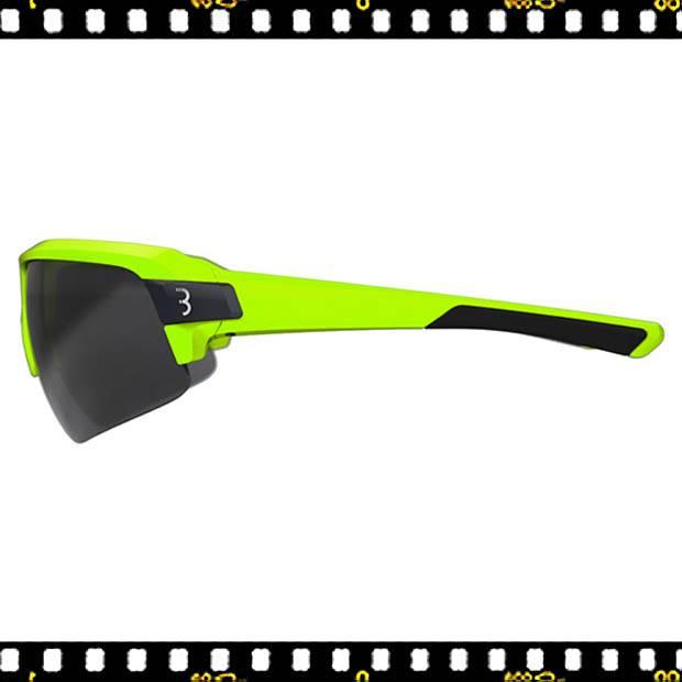 bbb impulse sárga biciklis szemüveg oldalt