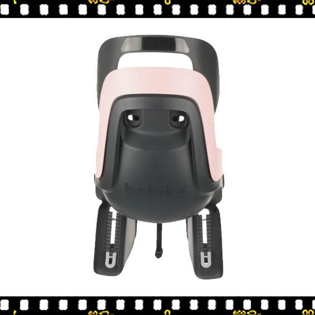 bobike go pink kerékpáros gyerekülés vázra hátulról