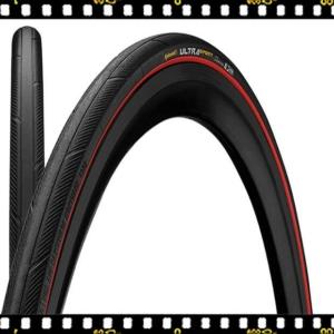 continental ultra sport III piros bicikli külső