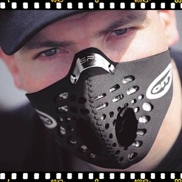 respro city fekete maszk levegő szennyezettsége ellen