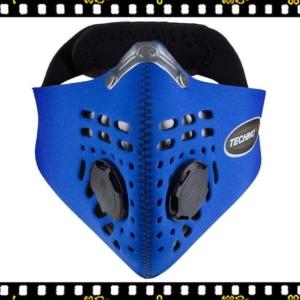 respro techno kék kerékpáros maszk