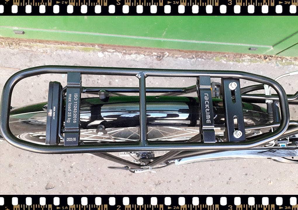 stevens albis városi férfi kerékpár csomagtartó