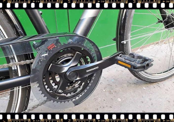 stevens albis városi férfi bicikli hajtómű