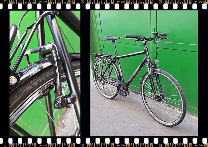 stevens albis városi férfi kerékpár bringangyal