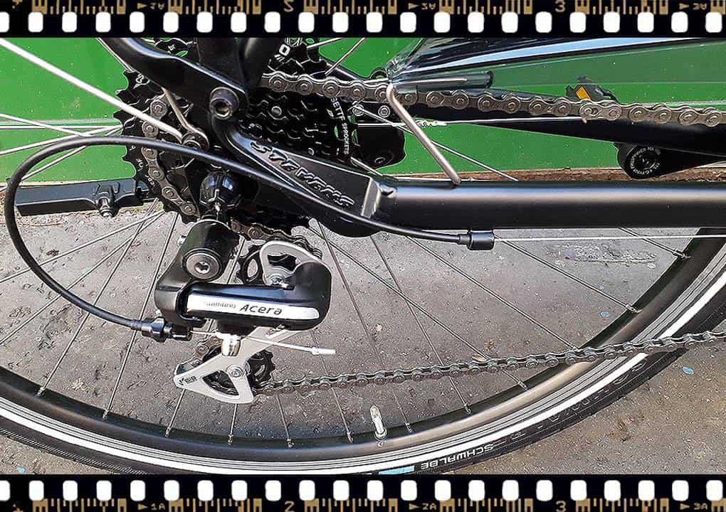 stevens albis városi férfi kerékpár acera váltó