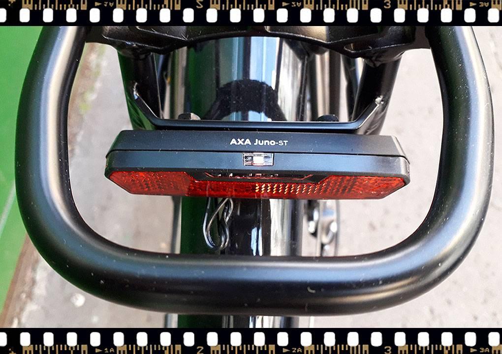 stevens albis városi férfi kerékpár hátsó világítás