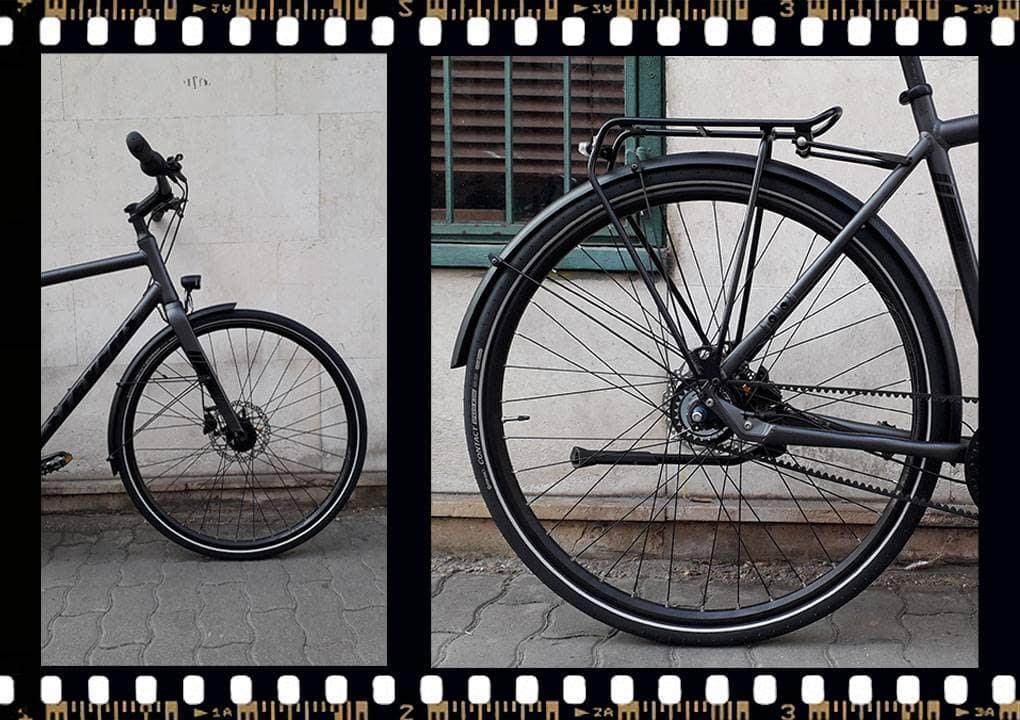 stevens city flight luxe férfi városi bicikli hátsó kerék