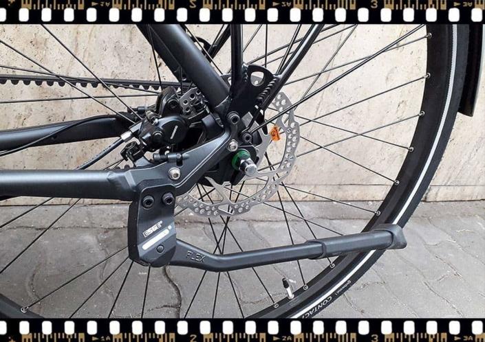stevens city flight luxe férfi szíjhajtású aluminium városi kerékpár kitámasztóval