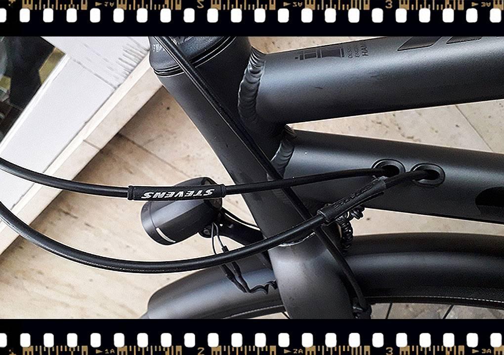 stevens city flight luxe női kerékpár lámpa