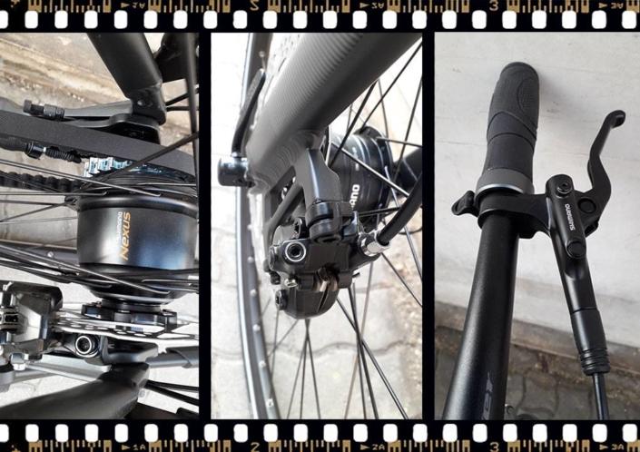 stevens city flight luxe női szíjhajtású bicikli