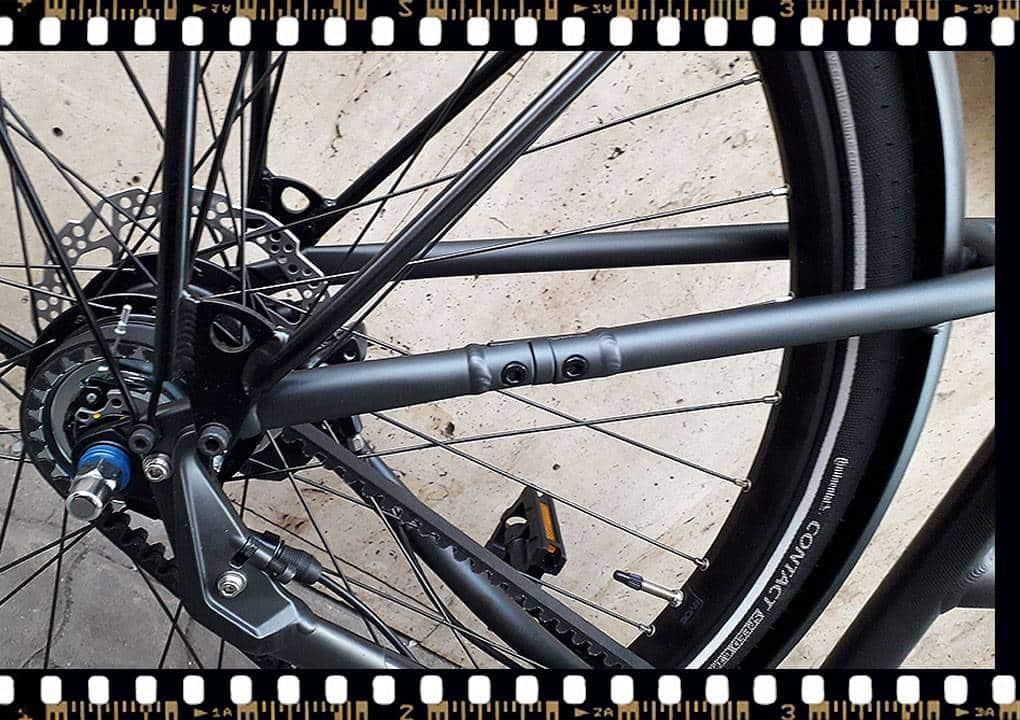 stevens city flight luxe női városi bicikli hatsó kerék