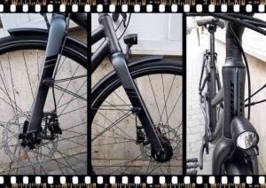 stevens city flight luxe női városi bicikli