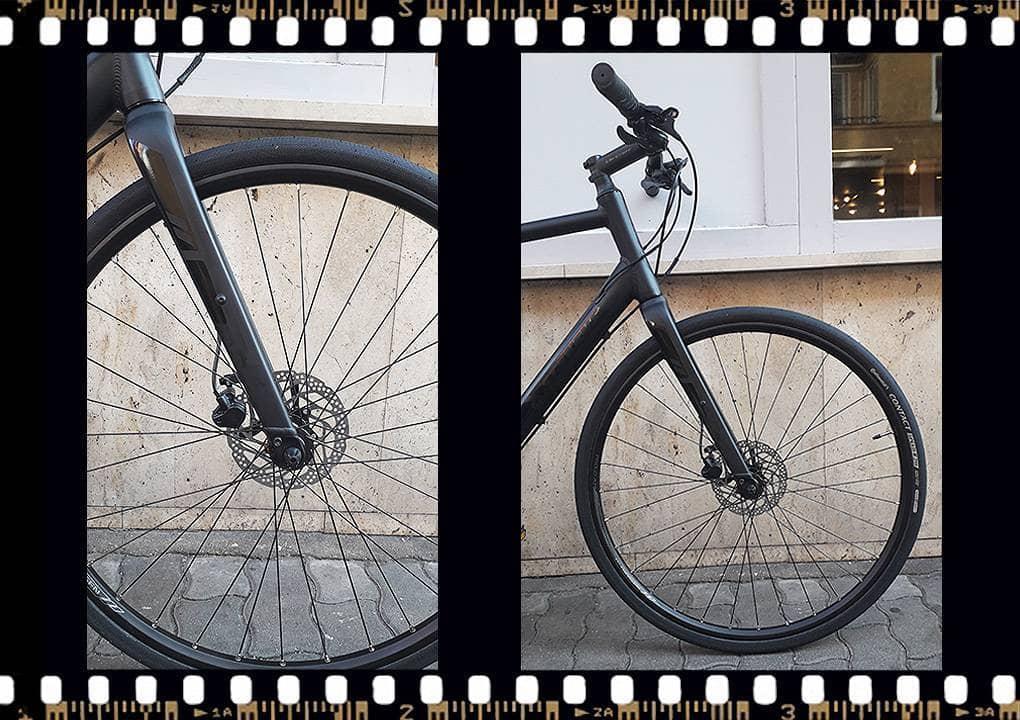 stevens strada 600 kerékpár első kerék