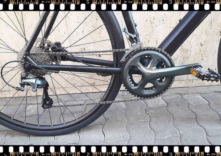 stevens strada 600 kerékpár hajtómű