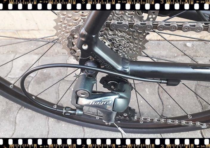 stevens strada 600 kerékpár hátsó váltó