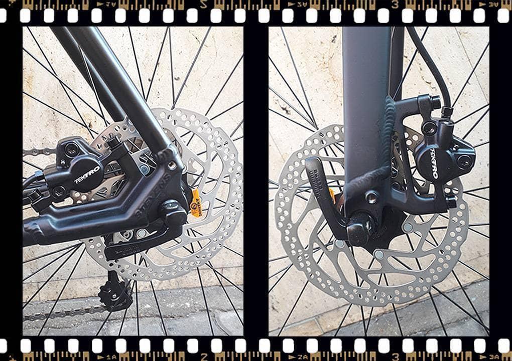 stevens strada 600 kerékpár tárcsafék