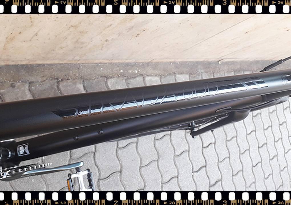 stevens strada 600 kerékpár alu. váz
