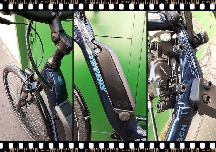 stevens lavena elektromos kerékpár bosch motorral