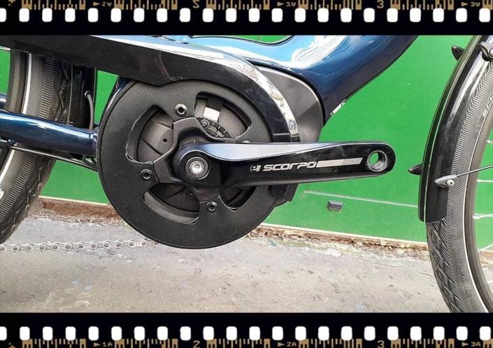 stevens lavena elektromos kerékpár hajtómű