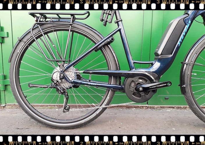 stevens lavena elektromos bicikli hátsó kerék