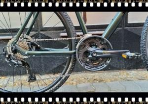 stevens 5x cross alu vázas férfi kerékpár hajtómű