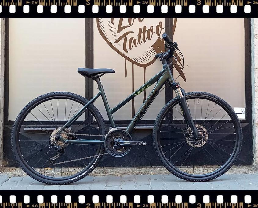 stevens 5x cross női kerékpár