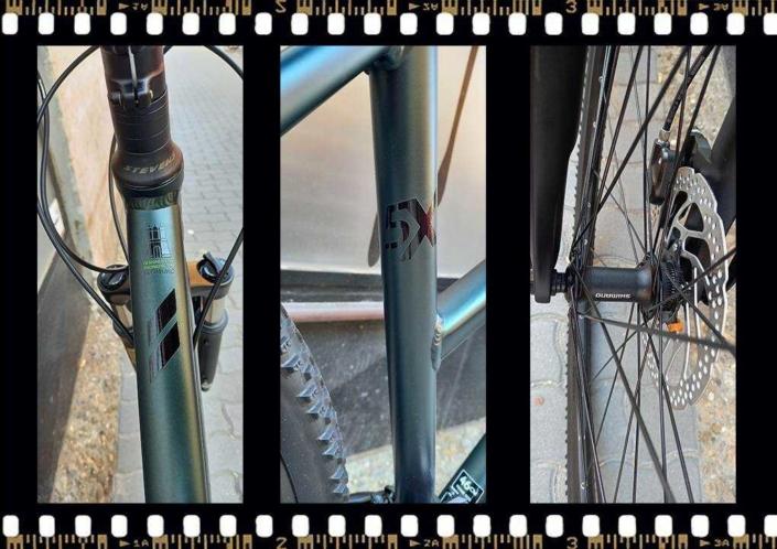 stevens 5x cross női kerékpár aluminium vázzal