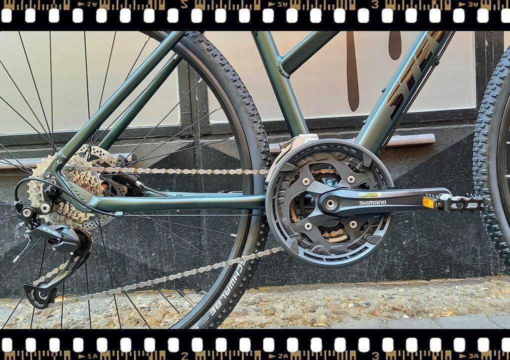stevens 5x cross női kerékpár hajtóműje