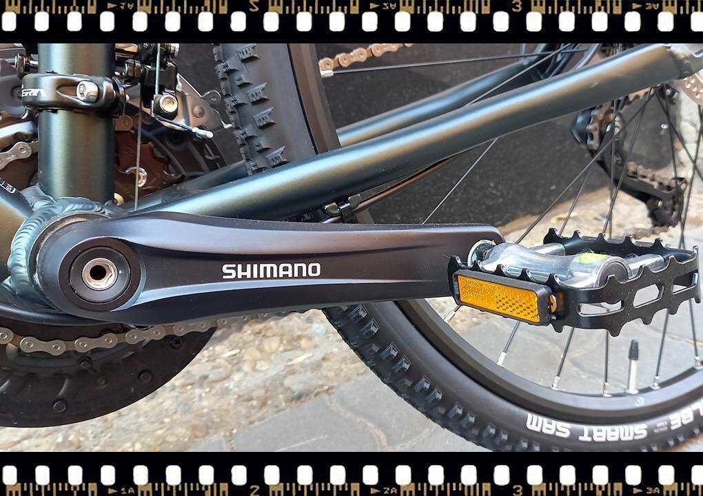stevens 5x cross női bicikli shimano hajtókarral